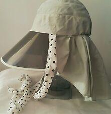 Visor 100% Cotton Hats for Women