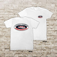 NATIONAL RAMCHARGERS AUTO RACING DRAG RACE HOT ROD WHITE OR BLACK T-SHIRT