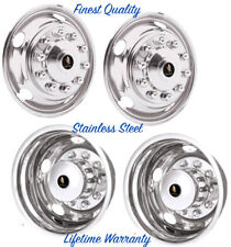 "19.5"" FORD 10 LUG F450 F550 LCF 05-16 WHEEL SIMULATOR RIM LINER HUBCAP COVERS ©"