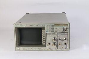 HP 83480A Digitale Comunicazioni Analizzatore W/Opzione 100 & 83485A + 83493A