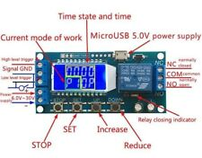 LCD Digital Timer Relay Delay Switch Time-delayed trigger Cycle Zeitrelais