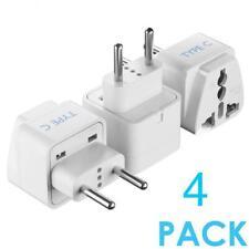 5 Core Adapter Type C White 4 Pcs