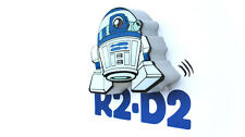 Star Wars r2-d2 3d Mini LED DECO LáMPARA DE PARED Nuevo Gran Regalo