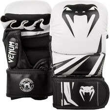 Venum Challenger 3.0 Sparring Gloves - White/Black - for MMA and Boxing