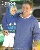 CANOE by Classic Elite Yarns 13 Hand Knit Knitting Patterns 9071-2