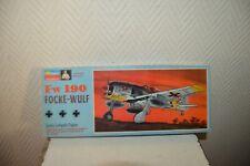 MAQUETTE MONOGRAM AVION FOCKE WULF FW 190 PLANE 1/48 MODEL KIT VINTAGE 1968