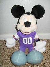 Mickey Mouse Minnesota Vikings Stuffed Animal