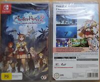 Atelier Ryza 2: Lost Legends & The Secret Fairy Switch NEW & SEALED FREE Express