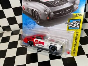 "Hot Wheels Mercedes-Benz 300 SL ""MARLBORO RACING"" REAL RIDERS custom"
