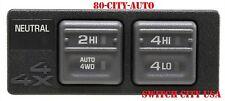 New Tahoe Yukon Suburban Auto 4x4 4WD Transfer Control Shift Switch 15027104