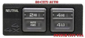 New K1500 K2500 K3500 Auto 4x4 4WD Transfer Control Shift Switch 15027104