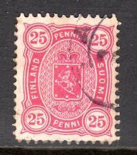 Finland - 1875 Def. Coat of Arms Mi. 17Byb FU (Perf. 12,5)  d