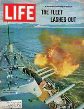1965 Life August 6 - Navy bombards Viet Nam; Dominica; Beatnik bullfighter
