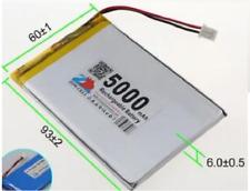 606090 5000mah rechargeable batteries lipo 3.7v