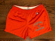 Syracuse Orangemen Orange Champion Vintage VTG Athletic Shorts Men's Medium