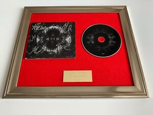 PERSONALLY SIGNED/AUTOGRAPHED ARCHITECTS - HOLY HELL FRAMED CD PRESENTATION