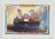 1991 Impel An American Tail: Fievel Goes West #132 Family Reunion Card 0c4