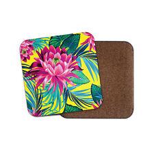 Purple Lotus Flower Coaster - Floral Flowers Lily Girls Mum Auntie Gift #14722