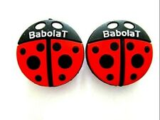 2 Babolat Beetle Tennis Vibration Shock Absorber Dampener Cartoon Beatle Bug