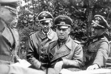WW2 - Le Generalfeldmarschall Rommel à Vierville et Colleville en 1943
