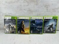 Halo 3, ODST, Halo 4, Halo Reach - Microsoft Xbox 360 Tested 4 game Lot