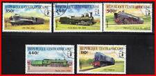 CENTRAL AFRICAN REPUBLIC = TRAINS CTO  LOCOMOTIVES  RAILROADS TRANSPORT (C-AL)