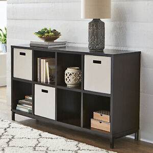 Better Homes & Gardens 8 Cube Storage Organizer with Metal Base, Multiple Finish