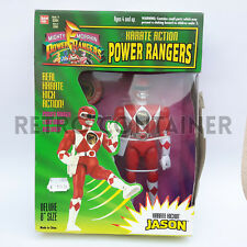KARATE ACTION MIGHTY MORPHIN POWER RANGERS - Jason Red Ranger - New MISB MOC