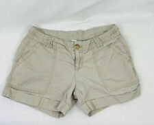 Old Navy Womens Shorts Khaki Brown Booty Shorts Size 2