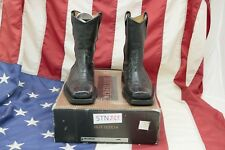 Boots New Buttero ( Cod. STN245) N.40 Leather Men Black Cowboy Country Biker