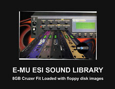 SAMPLE LIBRARY for E-MU ESI 2000 4000 32 EMU - 300 floppy disk images eDelivery