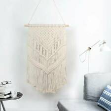 Hand Woven Macrame Wall Hanging Tapestry Bohemian Boho Ornament Home Decor Large