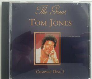 The Great TOM JONES 3 Compact Disc CD Cat No. RXBOX31055