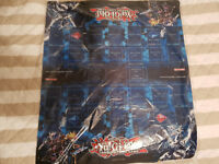 "Yu-Gi-Oh! Double Playmat Official ""Playmaker & Firewall Dragon + Decode Talker"""