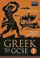 Griego a GCSE: para OCR GCSE griego clásico (9-1): parte 1 por John Taylor..