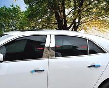 Chrome Central Window B+C Pillar Posts Cover For Chevrolet Malibu 2013 2014 2015