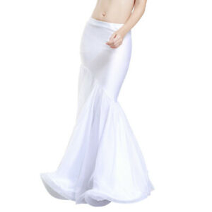 New High Quality Sexy Belly Dance Skirt Mermaid Skirt Wrap Skirt White color