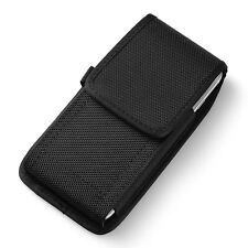 Premium Nylon Vertical Holster Belt Pouch Case for iPhone 8 / 7 / Google Pixel 2