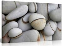 Stone Pebbles Canvas Wall Art Picture Print