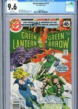 Green Lantern #113 CGC 9.6 White Pages DC Comics 1979