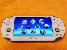 White PS Vita Playstation Vita handheld console 3.65fw, Henkaku Enso