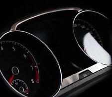 VW Golf 7 Edelstahl Finition brossée Décor pour Compte-tours GTI r TDI TSI