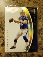 2016 Panini Immaculate Collection Gold Andrew Luck SSP #5/5 Colts