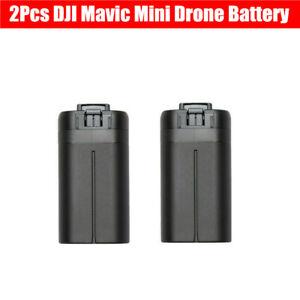 2Pcs DJI Mavic Mini Intelligent Flight Battery for DJI Mavic Batteries Accessory