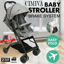 Fold Baby Stroller Pram Travel Pushchair Infant Buggy Lightweight Carry On Plane