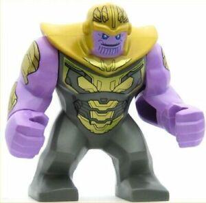 LEGO Super Heroes Minifigure Thanos - Dark Bluish Gray Armor