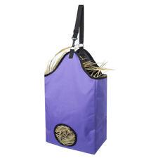 Horse Slow Feeding Bag Horse Feeder Hay Bag Purple Reduce Waste Tear-resistant