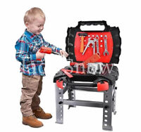 CREATIVE TOOL BENCH PLAY SET WORK SHOP KIDS TOOL SET KIT BOYS WORKBENCH GIFTS