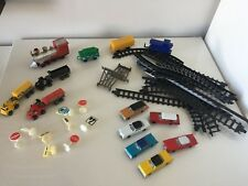 Vintage Plastic Train & Model Railroad Decor Cars