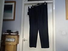 Para Hombre Marks & Spencer INDIGO Pantalón Cintura activo Mezcla De Lana W42 & L33 RRP - £ 38